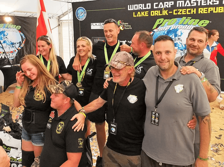 Team Carp Colours Donate to Angling Charities